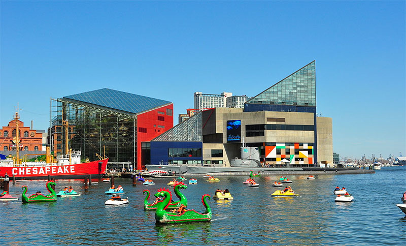 The New England Aquarium Was Designed By Cambridge Seven Ociates In 1969 With A Recent Imax Addition E Verner Johnson And Wing