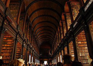 Trinity College Library, University of Dublin Ireland