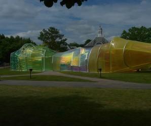 Serpentine Gallery Pavilion 2015, Kensington Gardens London
